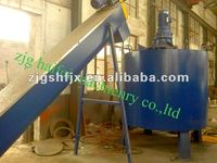 waste bottle PET recycling line with high quantity