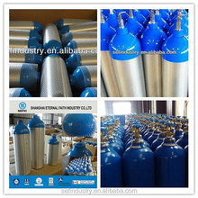 2015 Aluminum Gas Bottle High Pressure Oxygen Bottle with TPED/DOT Certificate
