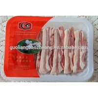 China Factory Direct Sale Water Absorbing Supermarket Display Dairy/ Meat/ Fish&Poultry Packaging Plastic Tray For Food