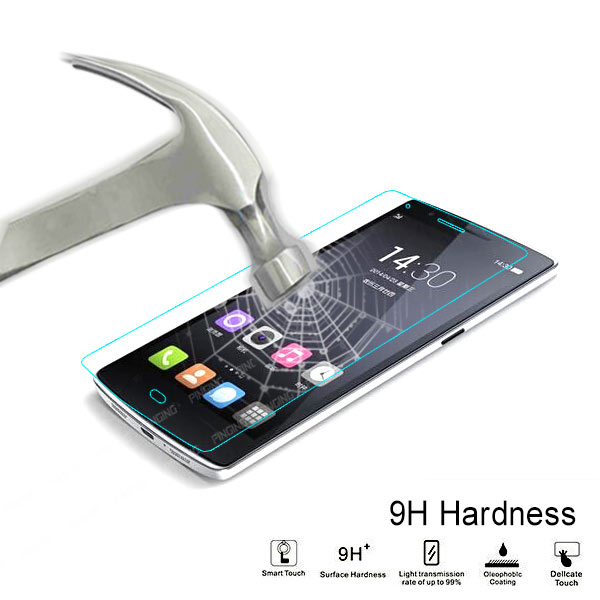 Anti-radiation 0.33mm 9H temper screen glass protector for ZTE blade Q max screen protective