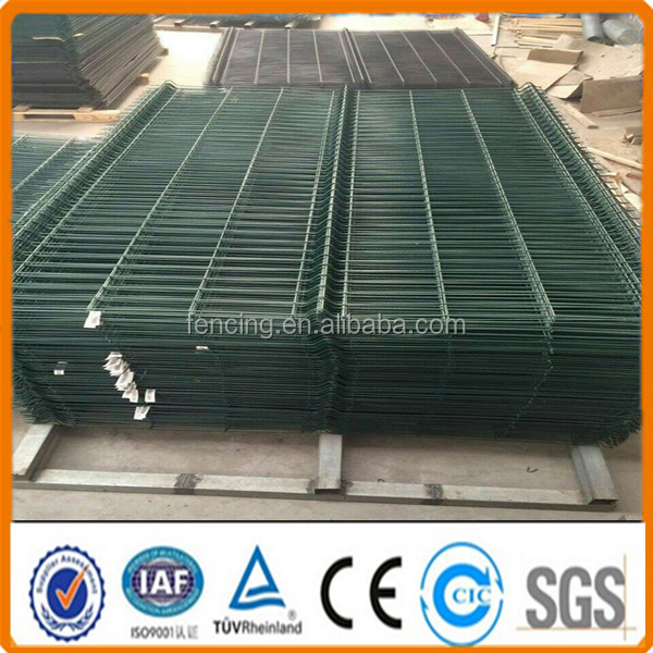 Decorative steel welded wire mesh fence panels