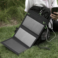 2017 Portable Foldable Solar Panel Charger 20W Solar Panel Power Bank
