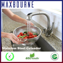 Multifunctional Solid Stainless Steel Wire Colanders washing, rinsing or draining Spaghetti and Rice