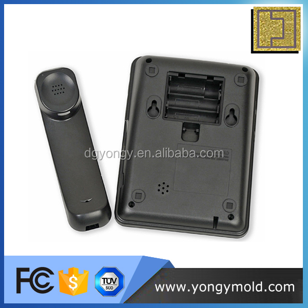 Office phone shell communication equipment shell plastic injection molding part