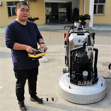 Jiansong remote control grinding machine for concrete floor polishing , terrazzo concrete floor grinder