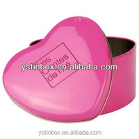 heart shape chocolate tin, chocolate tin can supplier in China
