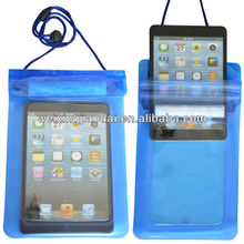 For mini ipad waterproof bag with lanyard