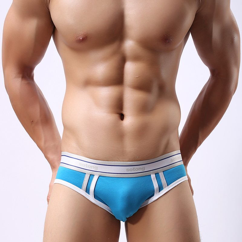 Shop sexy and comfortable designer men's brief, boxer brief, thong and jock underwear from the fashion design studio Andrew Christian.