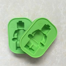 Customized Home & Garden manufacturers mini cake mold silicone lego cake moulds lego building mould