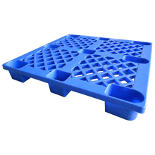 1100*800 single sides mini HDPE plastic pallet with wheels for sale
