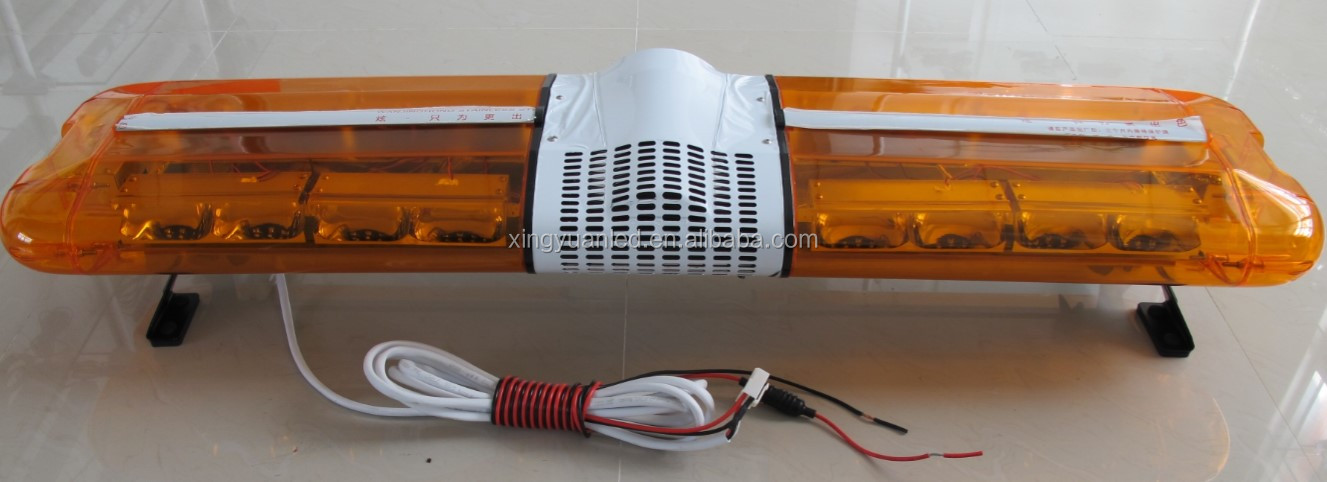 Police Warning lightbar High power Led light bar DC 12V Emergency vehicle light