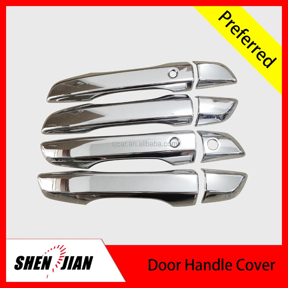 Factory price car auto exterior car accessory ABS chrome door handle cover for car exterior accessories