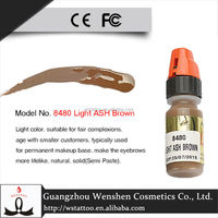 Popular micropigment lushcolor permanent embroidery eyebrow/eyeline/lip tattoo ink