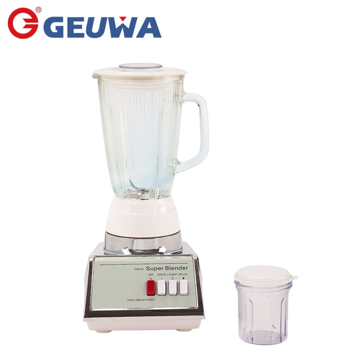 High Capacity Multifunctional National Brand Glass Jar Juicer Blender