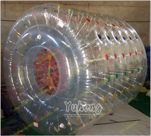 Guangzhou excited fun factory price best quality roller inflatable sports pvc balls