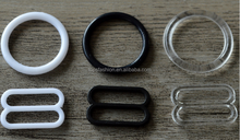 Top Fashion High Quality Custom Size Plastic Bra Strap Slider&Ring Adjuster Buckle