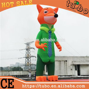 new product giant inflatable fixed advertising fox billboard model for sale