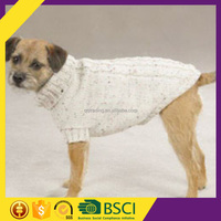 Manufacturer Stylish Winter Colorful Dot 3gg Machine Knit Wool Clothes Of Dog
