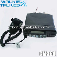 Wireless walkie talkies for long range car radio(GM360)