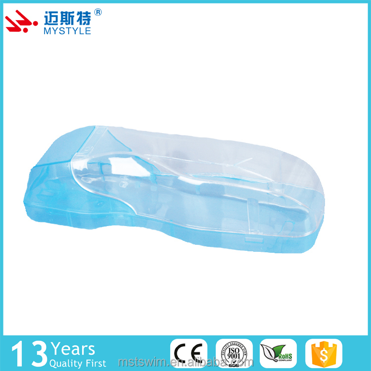 clear swimming goggles packing case