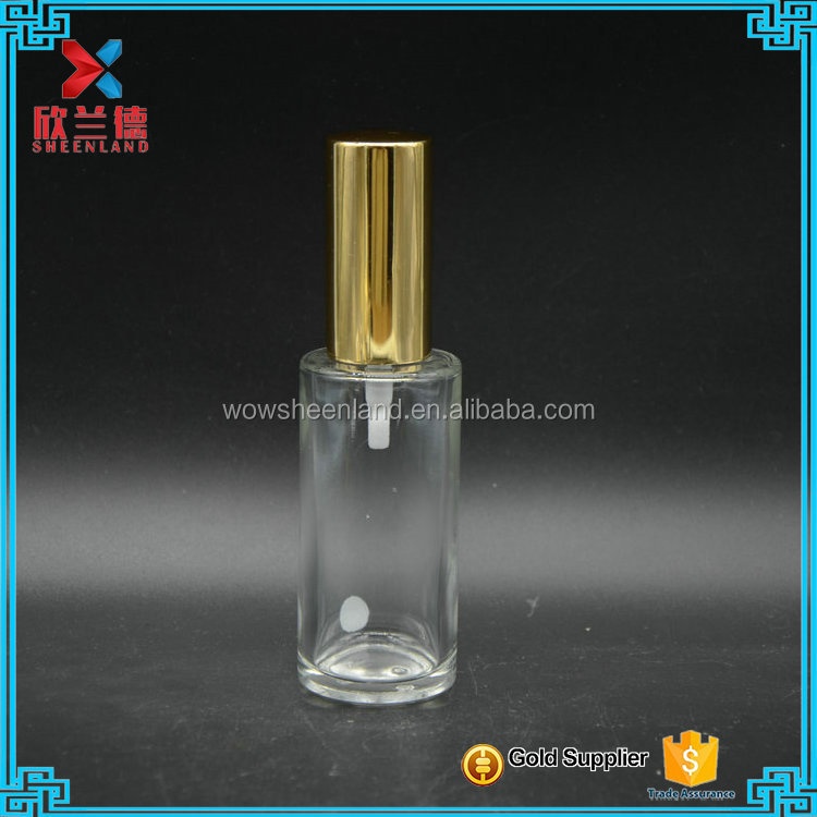 Small glass lotion pump bottle,glass airless pump lotion bottle 35ml wholesale
