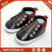 China manufacturer factory good quality soft PU german baby shoes