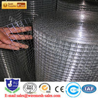 welded wire mesh for rabbit cage / galvanized welded wire mesh