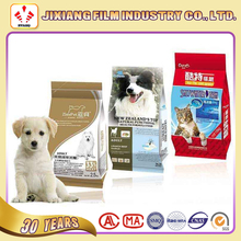 High quality Plastic printed Pet food plastic Bag for dog cat food packaging
