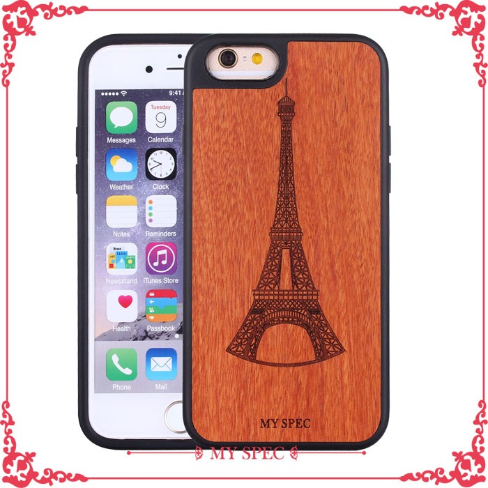 mobile accessories hard phone cases,bamboo wood case