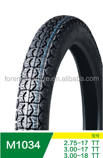 Chinise motorcycle tire 3.00-17 2.75-17 tractor tires