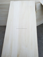 AA grade E1 glue paulownia edge glued wood panel