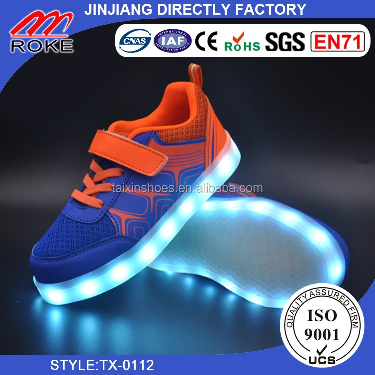 Original LED sneaker Best Quality LED Shoes Popular Unisex LED Shoes for children