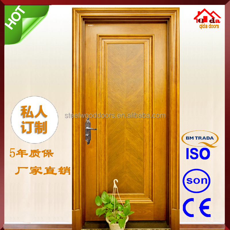 Veneer Luxury Wooden Double Door Frames Designs India