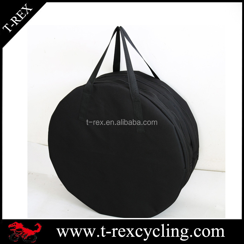 28 inch polyester bicycle wheel bag 700c bike double wheels carrying bags