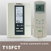 Modbus fan coil unit room thermostat