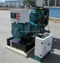China manufacturer OEM 50HZ 3 phase water cooled generators 27kva