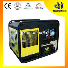 hot sale 5kw air-cooled super silent electric generator