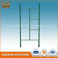 Walk through light duty door frame scaffolding for building construction