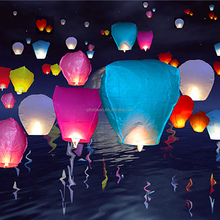 Eco luminary fuel cell for giant sky Chinese paper lantern for sale with high quality