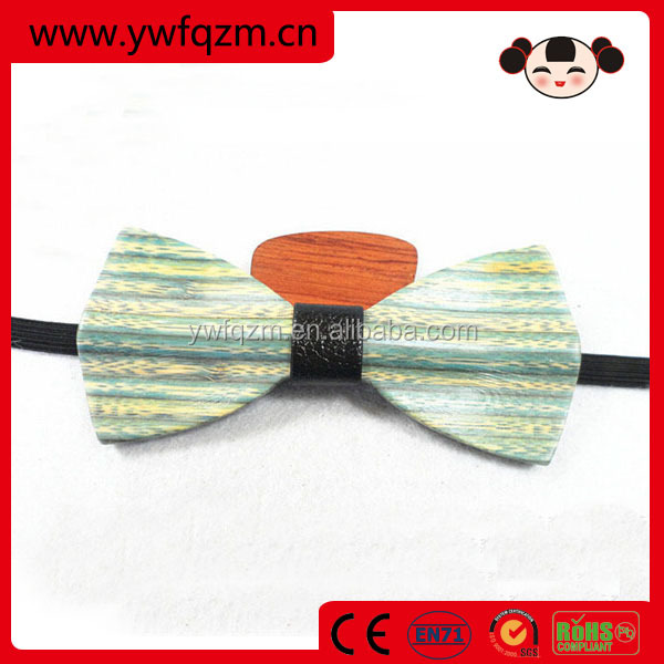 hot selling fashionable man wooden cheap self tie bow ties