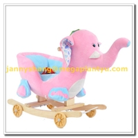 Walking on toy small baby plush sofa chair