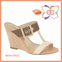 High Quality Wedge Lady Sandal shoe