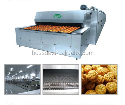 BOSSDA Energy Saving industrial Bakery Equipment natural gas Tunnel Bread Oven