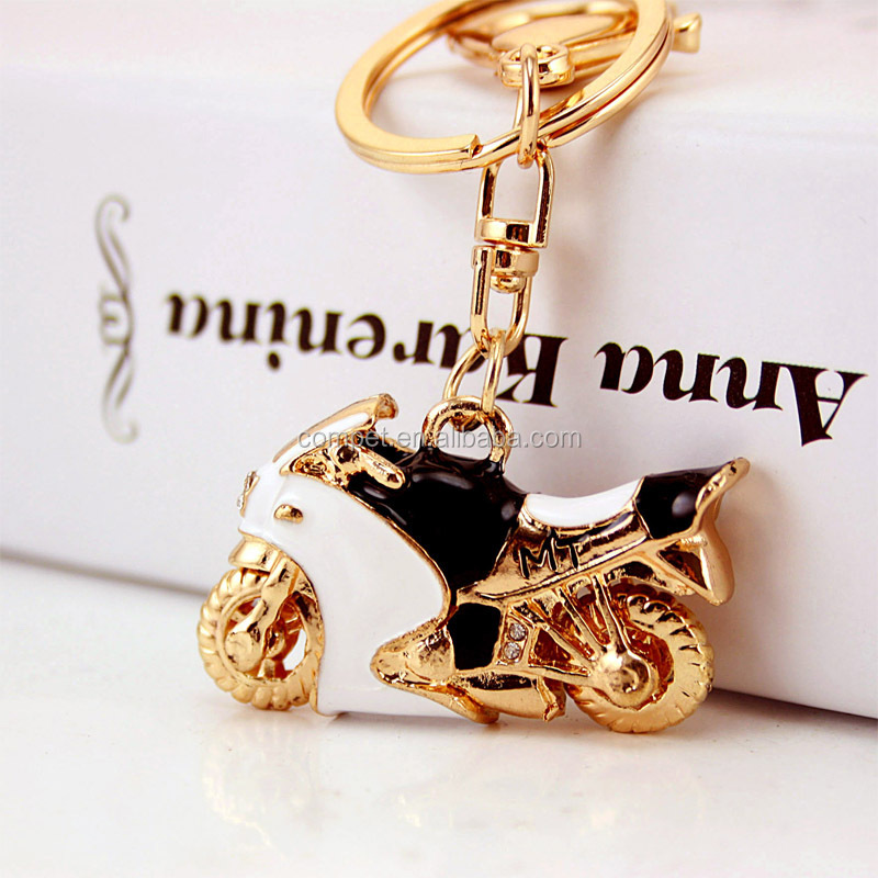 Hot style boyfriend birthday gift exquisite pendant motorcycle keychain