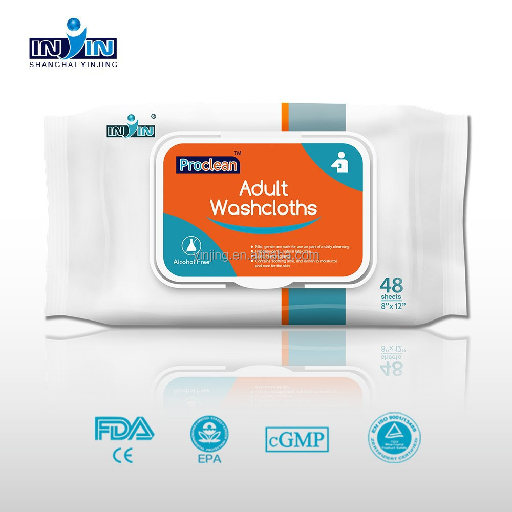 FDA CE face and body wipes