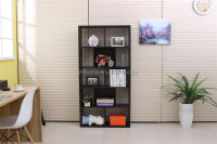 Wooden office bookcase /bookshelf with 5 layer big size