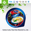 plastic cup food container with heat seal aluminium lids