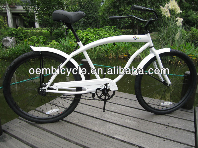 26 inch popular mens single speed chassis specialized beach cruiser bike