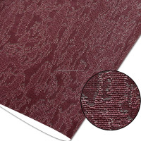 Waterproof and removable fabric backed deep embossing vinyl interior Wall Paper design wallpaper