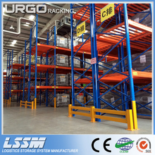 Adjustable heavy duty pallet rack for industrial storage